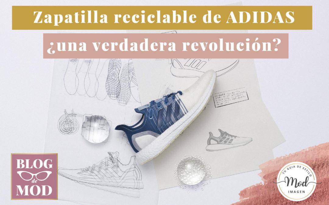 La zapatilla reciclable de Adidas