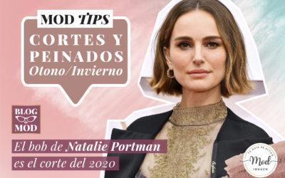 Por qué el bob de Natalie Portman en los Oscar es el corte de pelo de 2020