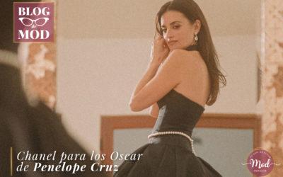 Así hizo Chanel el vestido para los Óscar de Penélope Cruz